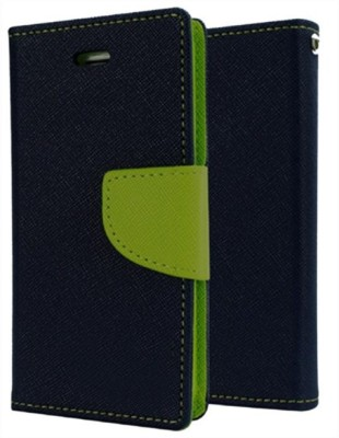 Ace HD Flip Cover for SAMSUNG Galaxy Grand Duos(Blue, Artificial Leather)