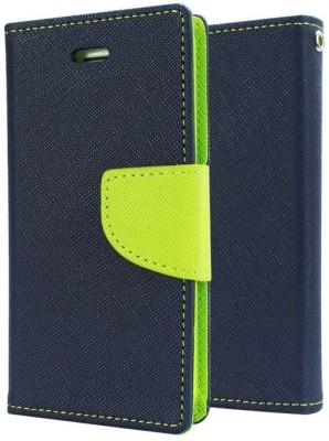 Spicesun Flip Cover for Motorola Moto E3 Power(Blue, Green, Artificial Leather)
