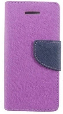 Tingtong Flip Cover for Xiaomi Redmi Note 2(Purple, Blue, Artificial Leather)