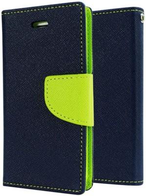 Micomy Flip Cover for SAMSUNG Galaxy S4 Mini Blue
