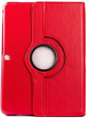 """Mystry Box Flip Cover for Samsung Galaxy Tab 4 10.1"""" T530 T531(Red)"""
