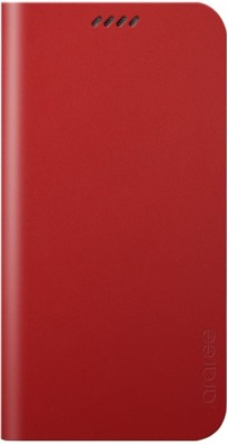 Araree Flip Cover for Samsung Galaxy S6 Edge Red