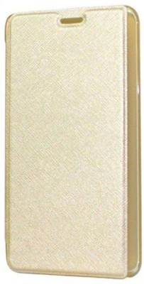 Caidea Flip Cover for Samsung Galaxy J7   6  New 2016 Edition  Gold