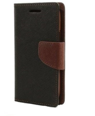 GadgetM Flip Cover for Samsung Galaxy Core Prime Brown
