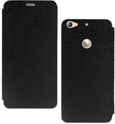 starz Flip Cover for LeEco Le 1S Black starz Plain Cases   Covers