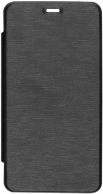 AryaMobi Flip Cover for Micromax A104 Canvas Fire 2 Black