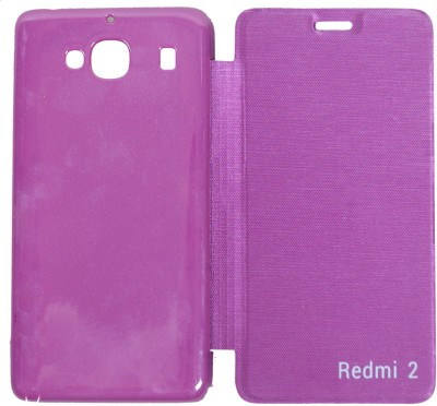 GadgetM Flip Cover for Mi Redmi 2 Prime Purple