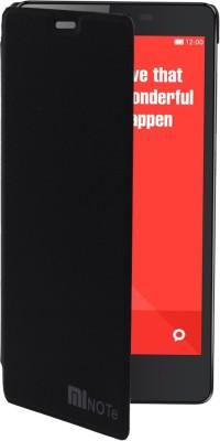 Coverage Flip Cover for Mi Redmi Note 3 Black