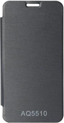 Captcha Flip Cover for Micromax Yureka (Black)