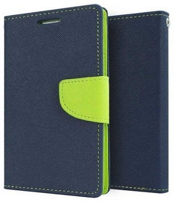 Relax And Shop Flip Cover for MicroMax Yureka(Royal Blue, Leather)