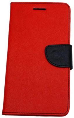 Novo Style Flip Cover for Mi Redmi Note 4G Red
