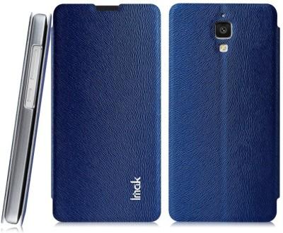 Heartly Flip Cover for Xiaomi Miui Mi4 Mi 4(Blue)