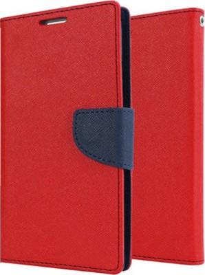 Ace HD Flip Cover for SamsungGalaxy Grand Duos 2(Red, Cloth, Plastic)
