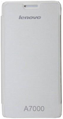 RDcase Flip Cover for Lenovo K3 Note White RDcase Plain Cases   Covers