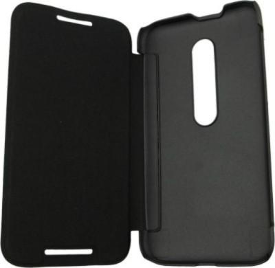 Kart4Smart Flip Cover for Motorola Moto G  3rd Generation  Black