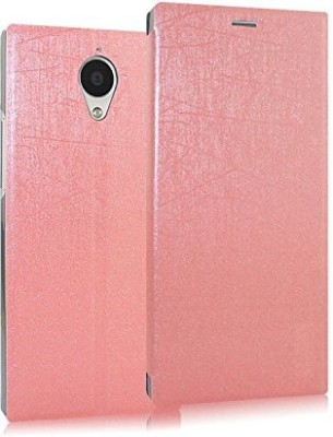 Heartly Flip Cover for Gionee Elife E7(Pink, Artificial Leather)