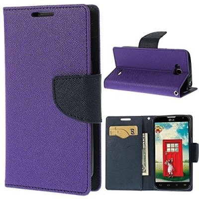 Relax And Shop Flip Cover for Mi Redmi Note 4G(Purple, Leather)