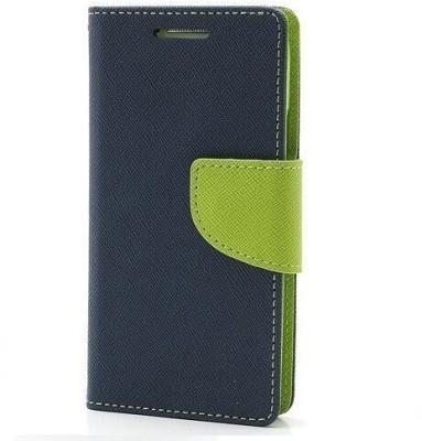 KartV Flip Cover for SAMSUNG Galaxy On5 Blue