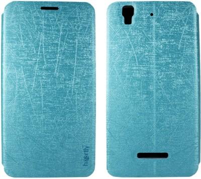 meet 2bb7e 354b3 Heartly Flip Cover for Micromax Canvas Nitro A310 A311 Dual Sim
