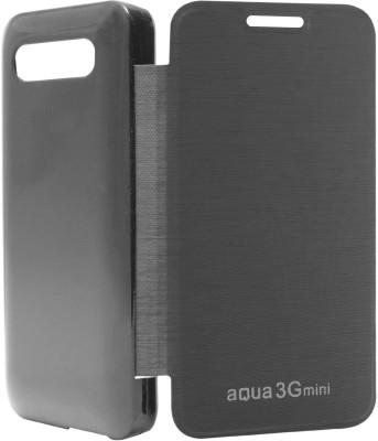 Sun Tigers Flip Cover for Intex Aqua 3G Mini(Black, Plastic) Flipkart