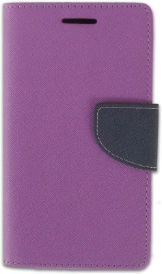 Loopee Flip Cover for Mi Redmi 2 Prime Purple