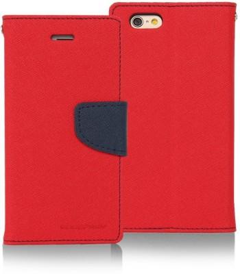 Micomy Flip Cover for Motorola Moto X Play Red