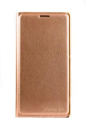 Mystry Box Flip Cover for Sony Xperia XA Gold