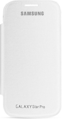 Coni Flip Cover for Samsung Galaxy Star Pro GT-S7262_Flip Cover(White, Artificial Leather)
