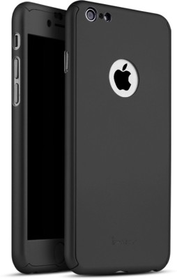 iPaky Front   Back Case for Apple iPhone 7 Black iPaky Plain Cases   Covers