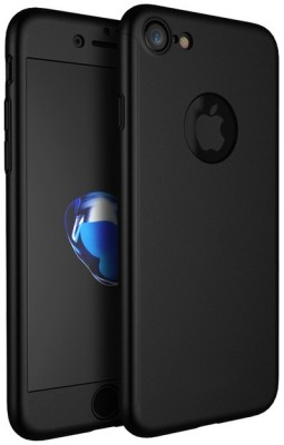 447ca1b43f 75% OFF on GoldKart Front & Back Case for Apple iPhone 7(Black, Plastic) on  Flipkart | PaisaWapas.com