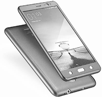 GadgetM Front   Back Case for Mi Redmi 3S Prime Silver