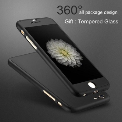 Spicesun Front   Back Case for Ipaky Apple iPhone 6S / 6 Black Spicesun Plain Cases   Covers