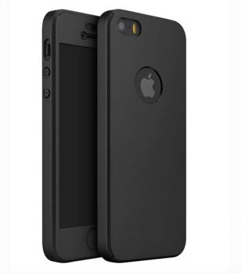 GoldKart Front & Back Case for Apple iPhone 5, Apple iPhone 5S(Black, Plastic)