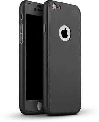Rahul Enterprises Front   Back Case for Apple iPhone 7 Black Rahul Enterprises Plain Cases   Covers