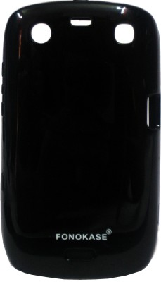Fonokase Back Cover for Blackberry 9360(Black)