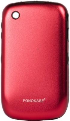 Fonokase Back Cover for BlackBerry 8520 / 9300(Red)