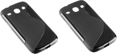 S Case Back Cover for SAMSUNG Galaxy Core I8262(Black, Grip Case)