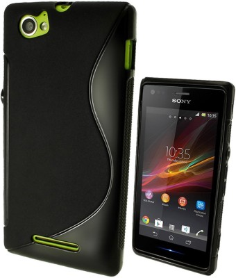 S Case Back Cover for Sony Xperia M Black