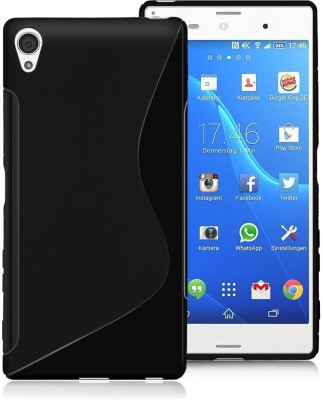 Smartchoice Back Cover for Sony Xperia X(in plain cases & covers)(Black, Grip Case, Rubber) Flipkart