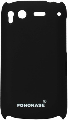 Fonokase Back Cover for HTC Desire S (Black)