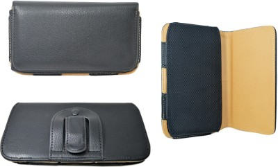 Oktata Pouch for Alco C2(Dark Black, Holster, Artificial Leather)