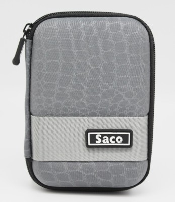 Saco Pouch for Samsung 850 EVO 250GB 2.5-Inch SATA III Internal SSD (MZ-75E250B/AM)(Black, Artificial Leather)