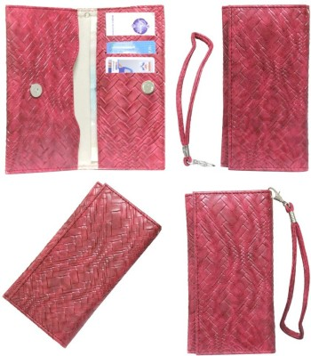 JoJo Pouch for HP Slate 6 VoiceTab II(Red, Artificial Leather)