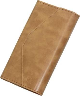 J Pouch for Micromax A88 Canvas Music(Tan, Artificial Leather)