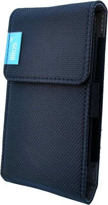 Illios Pouch for Mi 20000mAh Power Bank(Grey, Artificial Leather)