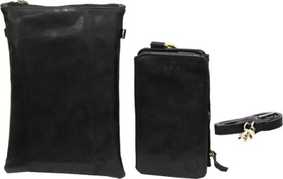 JoJo Pouch for LG Spectrum II 4G VS930(Black, Artificial Leather)
