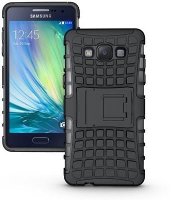 MTA Back Cover for Samsung Galaxy Grand 2(Black Kickstand, Shock Proof, Rubber, Plastic)