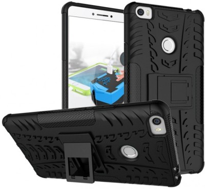 Case Creation Back Cover for Mi Max Black, Shock Proof, Silicon Case Creation Plain Cases   Covers