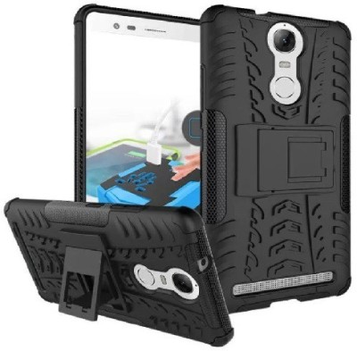 Ridhaniyaa Back Cover for Lenovo Vibe K5 Note Black, Shock Proof
