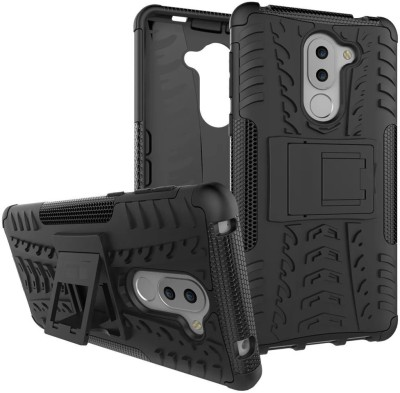 Cover Alive Back Cover for Honor 6X(Black, Shock Proof)